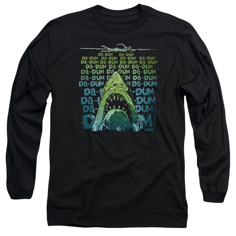 Jaws Movie Da Dum Long Sleeve Shirt