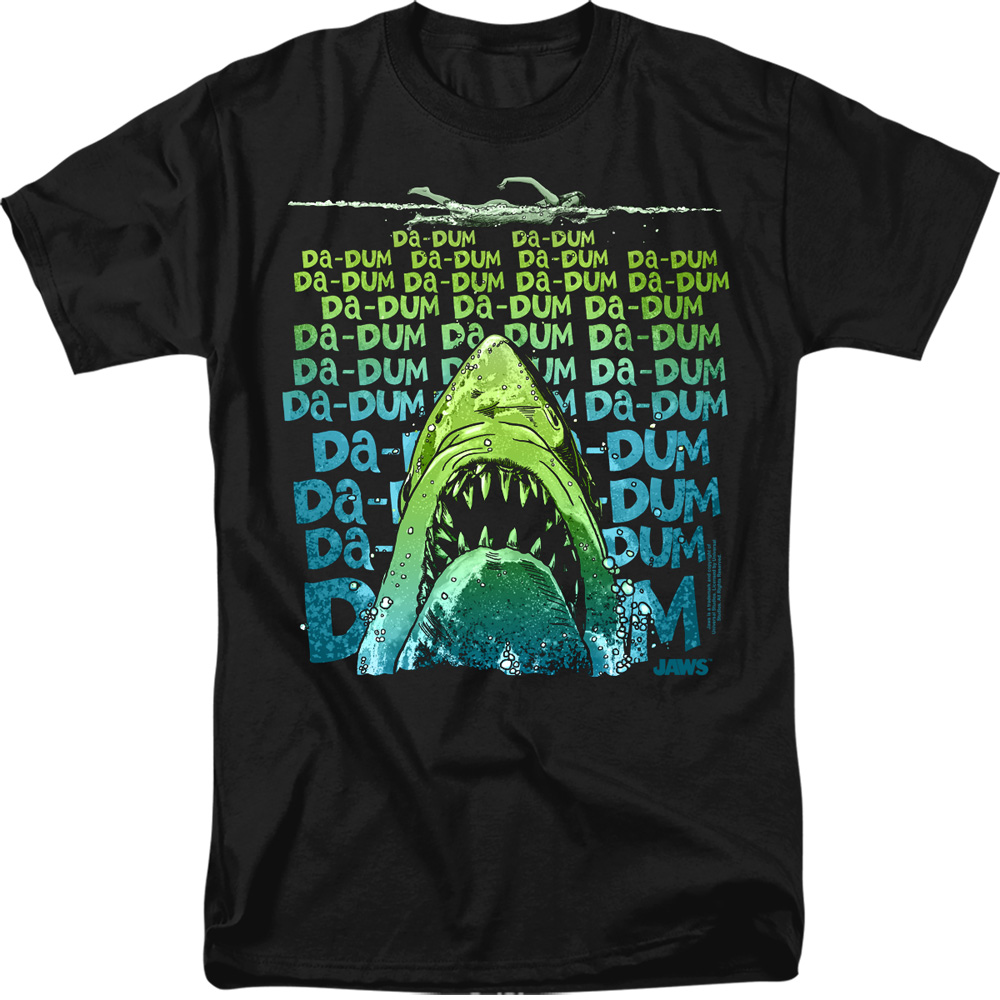 Jaws Movie Da Dum T-Shirt
