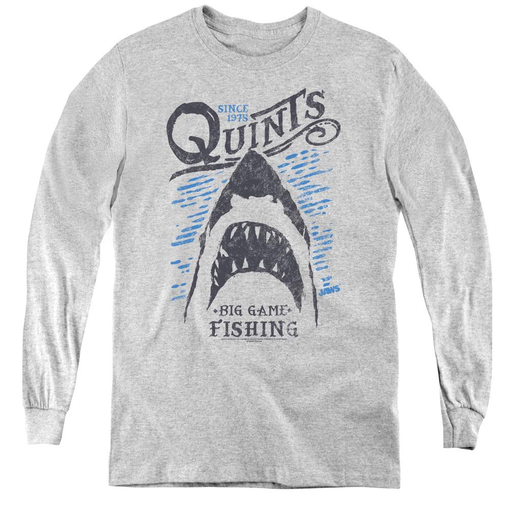 Jaws - Big Game Fishing Kids Long Sleeve Shirt