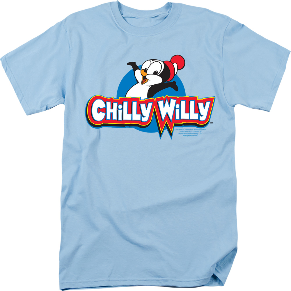 Chilly Willy Classic Penguin Logo T-Shirt