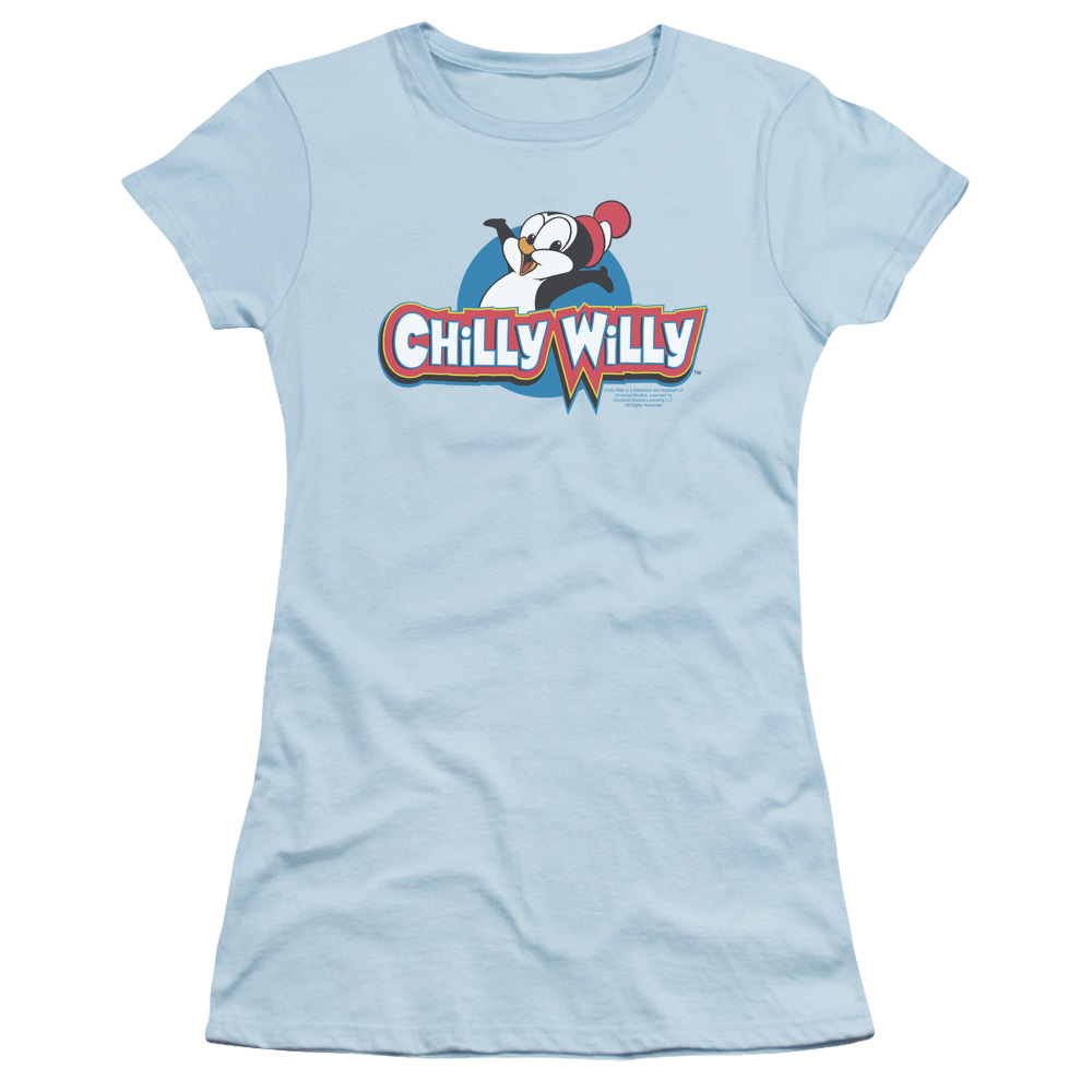 Chilly Willy Classic Penguin Logo Junior Fit T Shirt