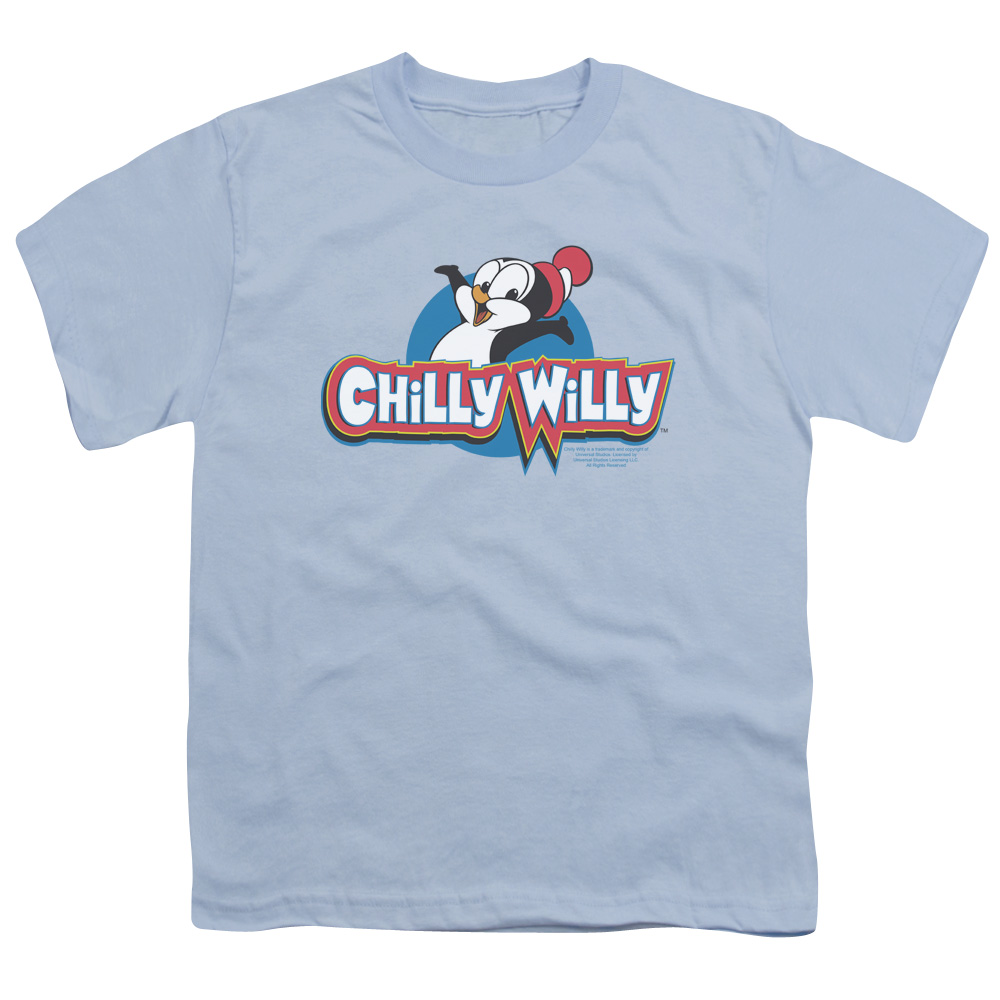 Chilly Willy Classic Penguin Logo Kids T-Shirt