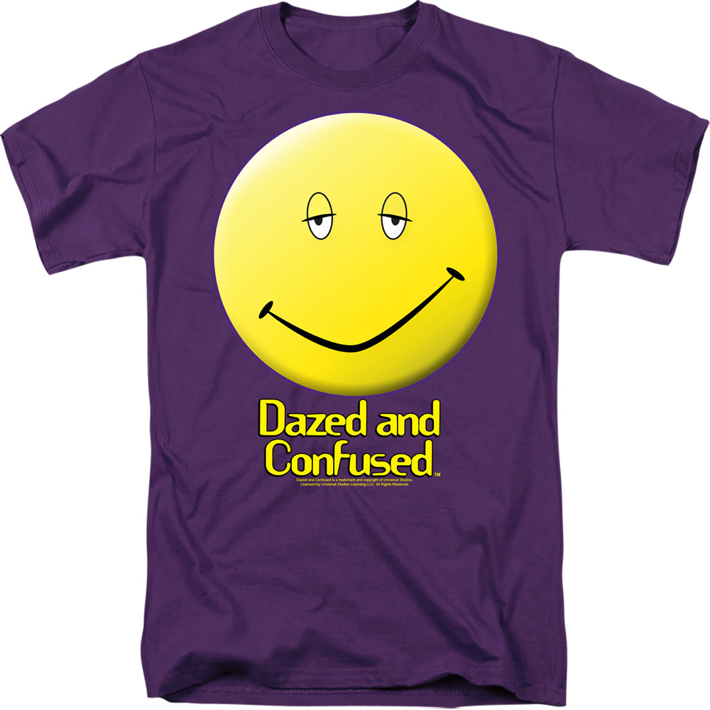 Dazed and Confused Smiley Face T-Shirt