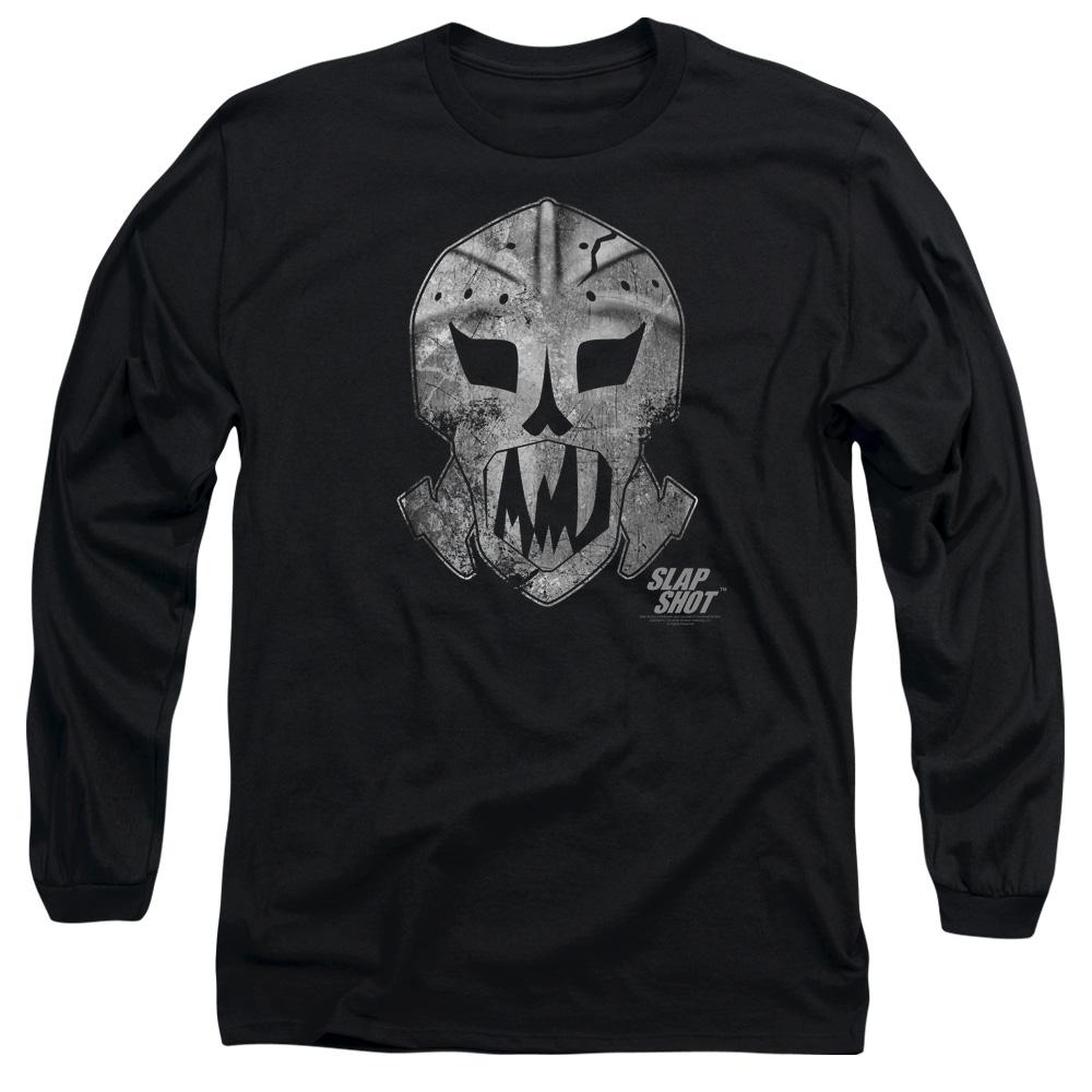 Goalie Mask Slap Shot Long Sleeve Shirt