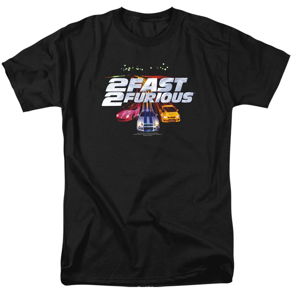 2 Fast 2 Furious Logo T-Shirt
