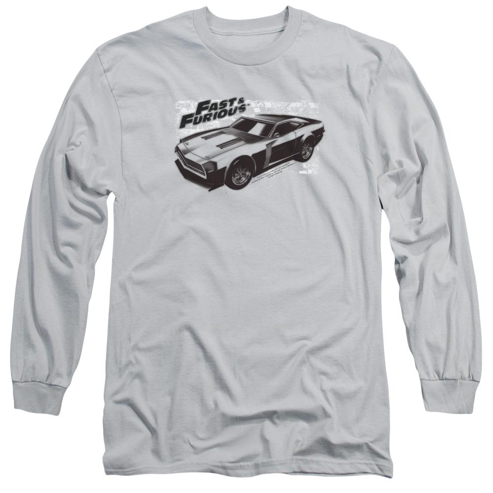Fast and the Furious Spray Car Long Sleeve Shirt