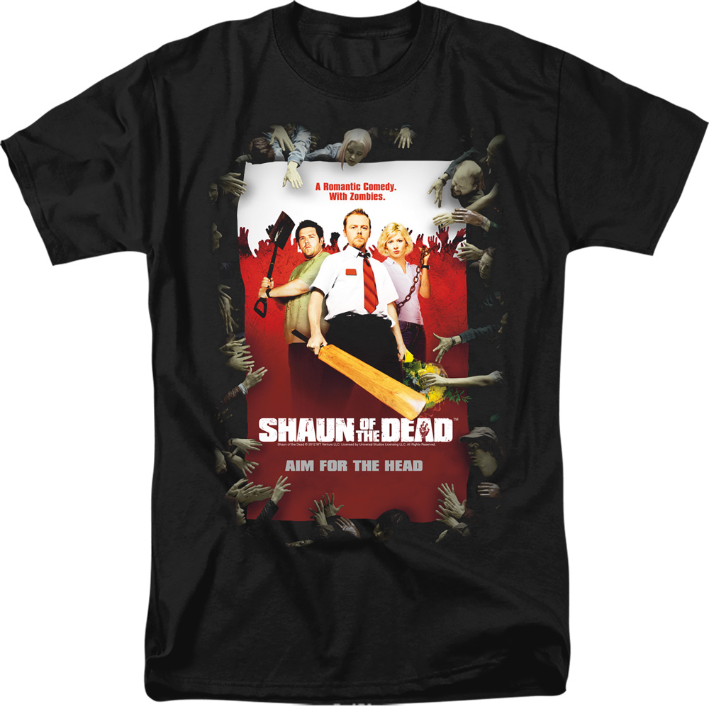 Poster Shaun Of The Dead T-Shirt