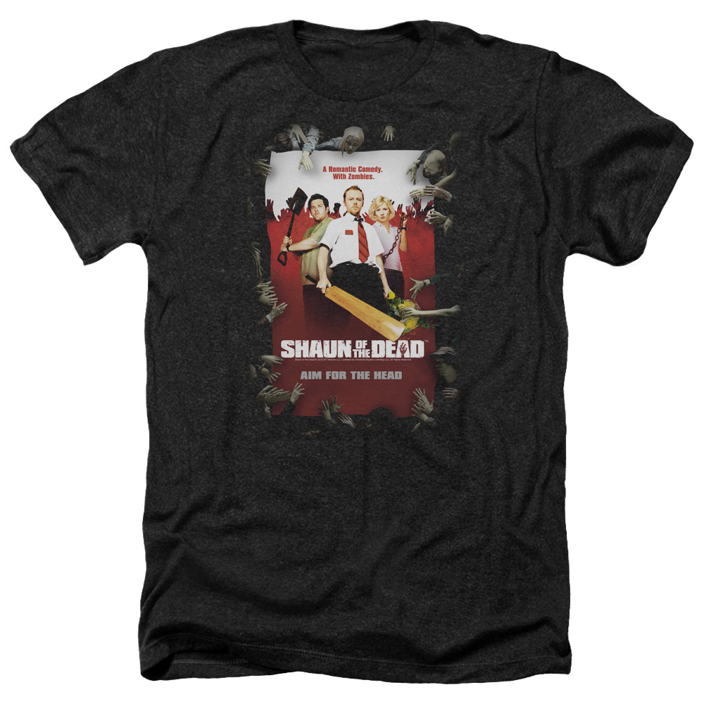 Poster Shaun Of The Dead Heather T-Shirt