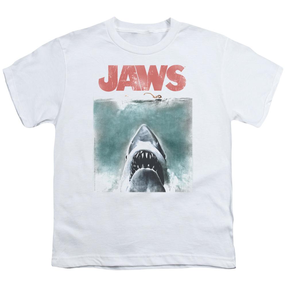 Vintage Poster Jaws Kids T-Shirt