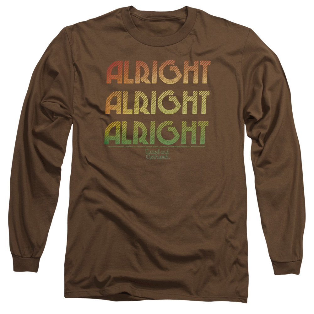 Alright Z Dazed and Confused Retro Long Sleeve Shirt
