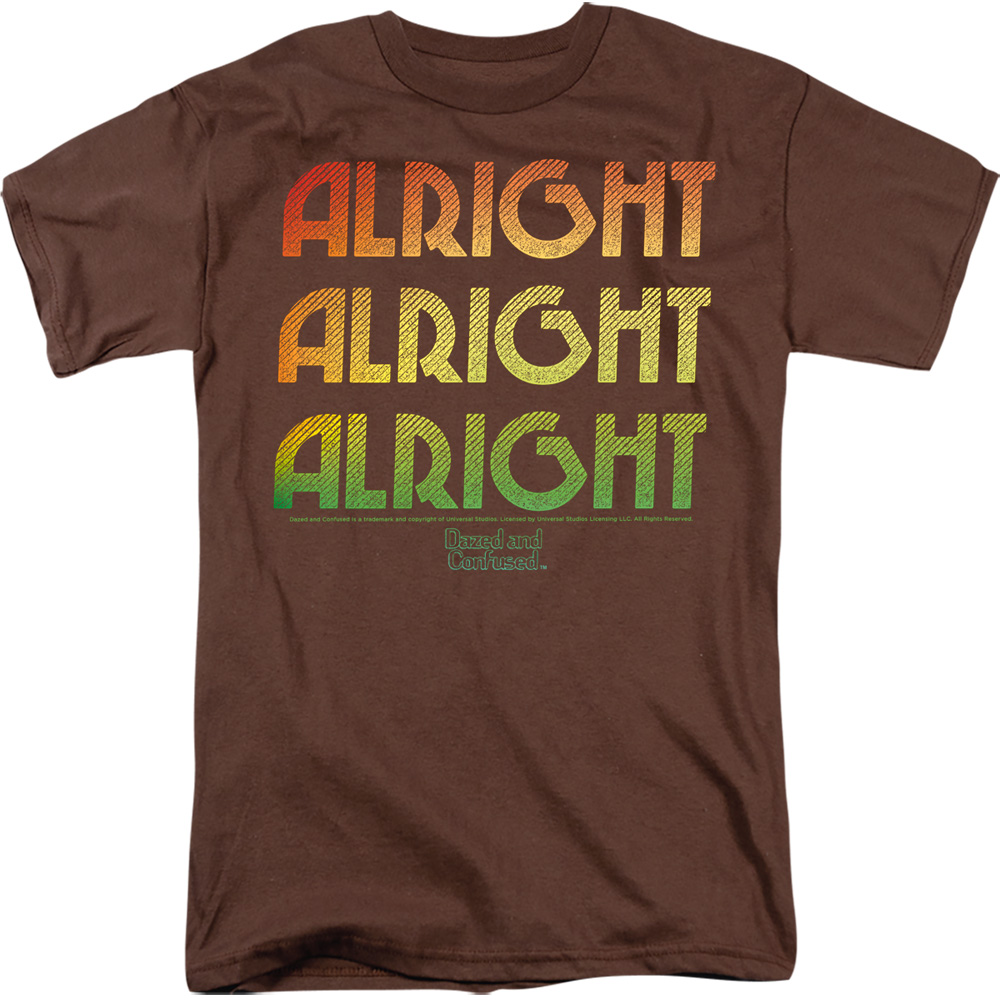 Alright Z Dazed and Confused Retro T-Shirt