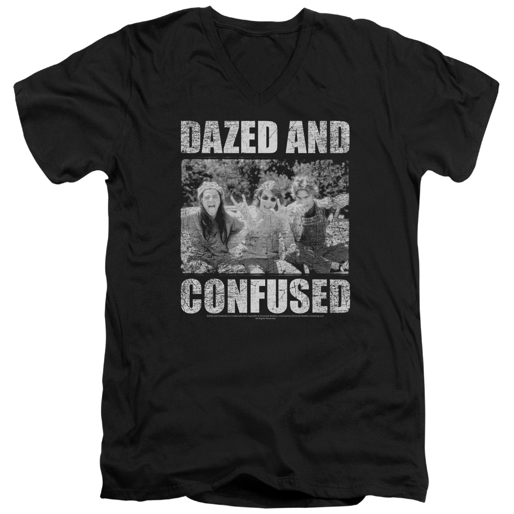 Dazed and Confused Rock On V-Neck T-Shirt