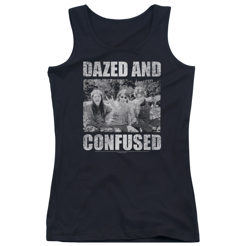 Dazed and Confused Rock On Juniors Tank Top
