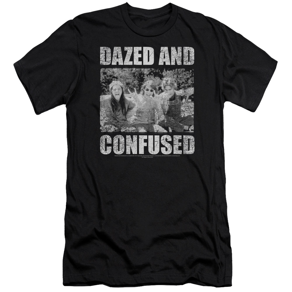 Dazed and Confused Rock On Premium Slim Fit T-Shirt
