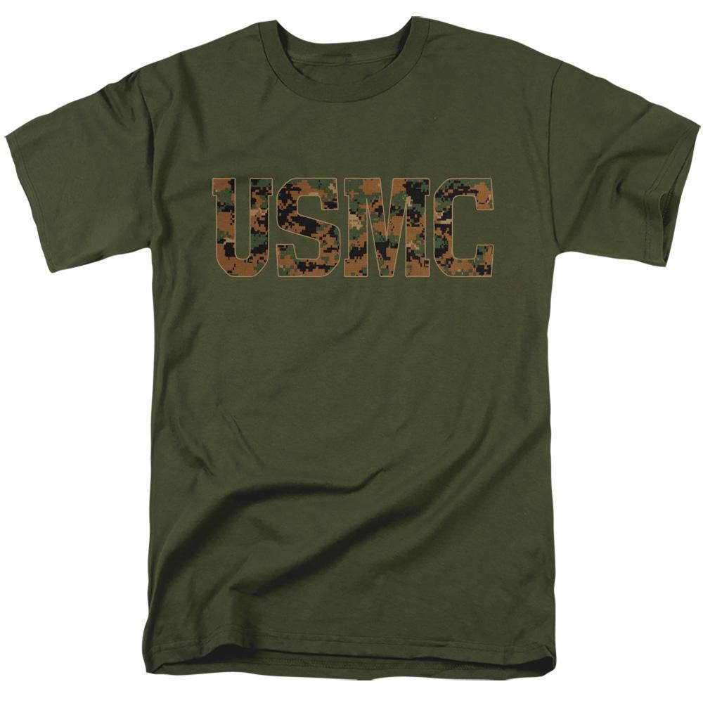 US Marine Corps USMC Camo Fill T-Shirt