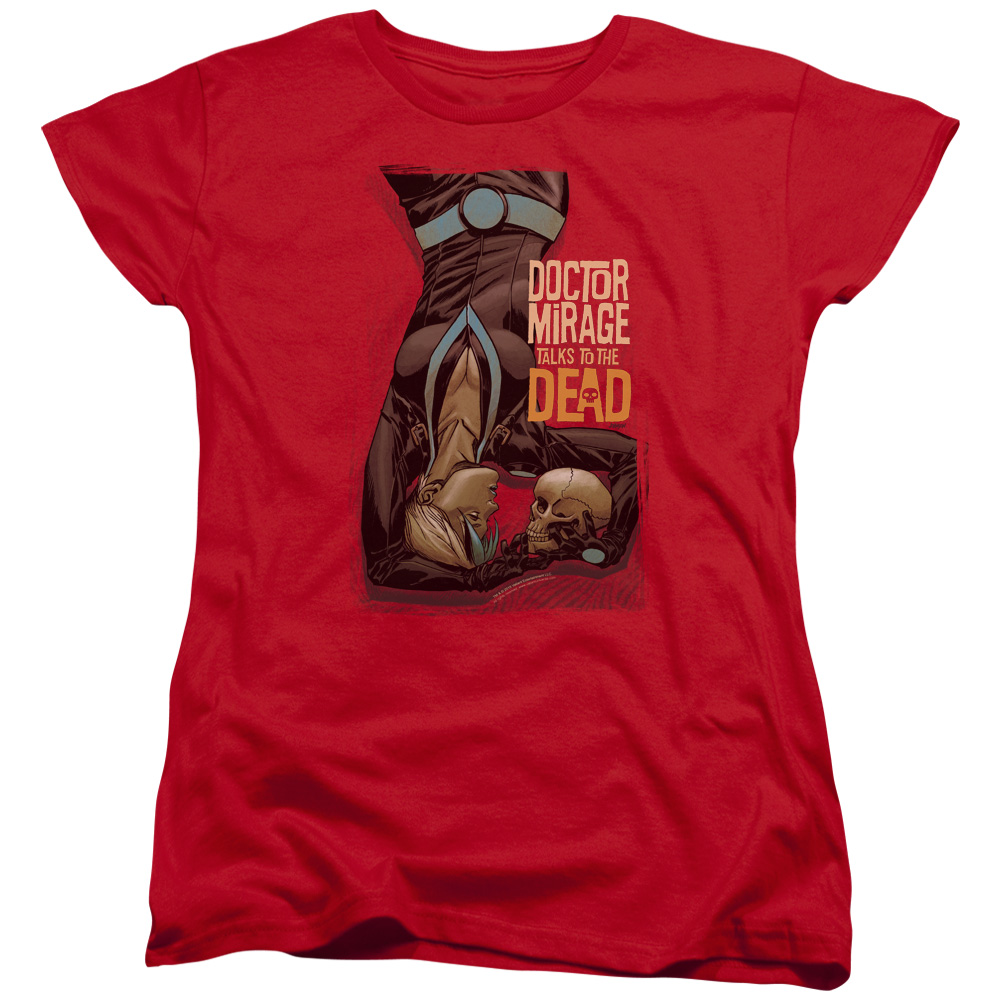 Dr Mirage Talks To The Dead Women's T-Shirt