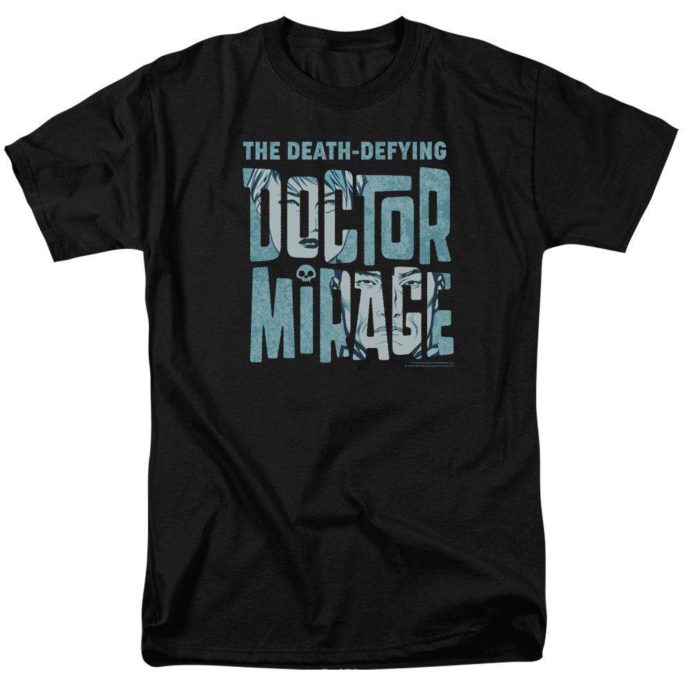Dr Mirage Character Logo T-Shirt