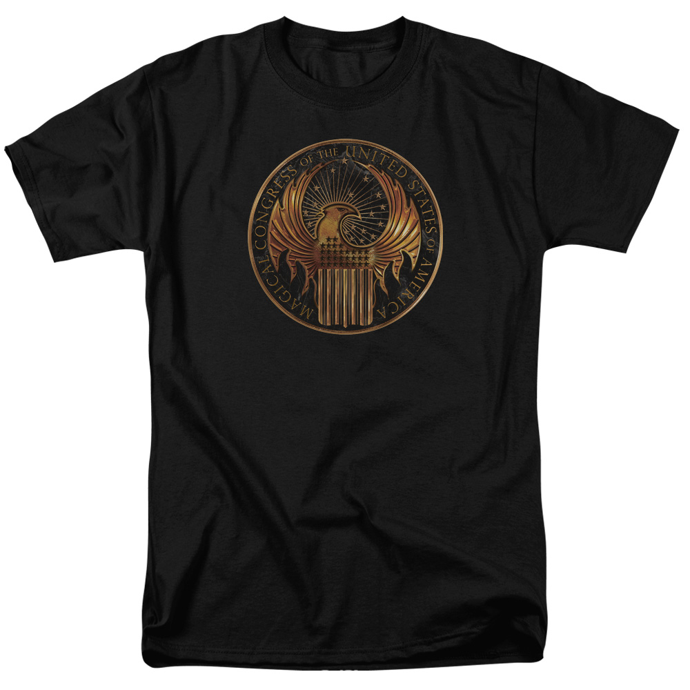 Magical Congress Crest Fantastic Beasts and Where to Find Them T-Shirt