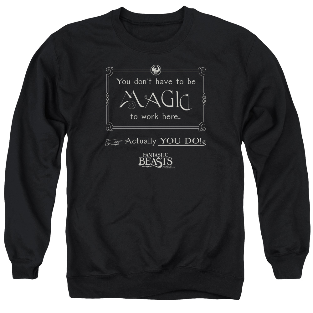 Magic To Work Here Fantastic Beasts and Where to Find Them Sweater