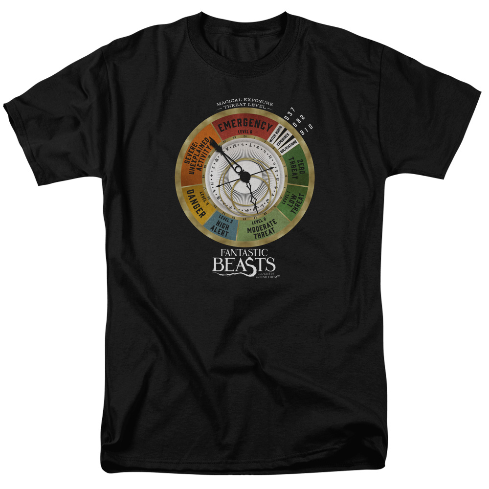 Threat Gauge Fantastic Beasts and Where to Find Them T-Shirt