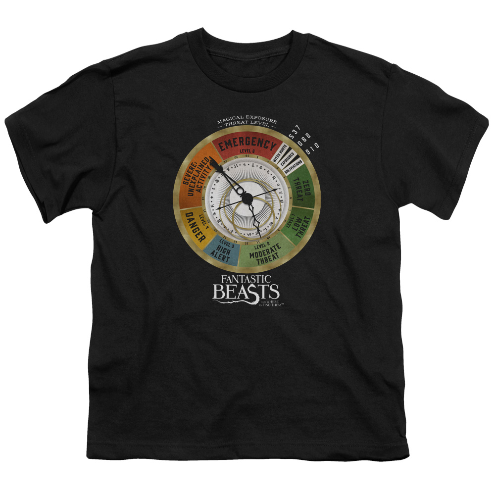Threat Gauge Fantastic Beasts and Where to Find Them Kids T-Shirt