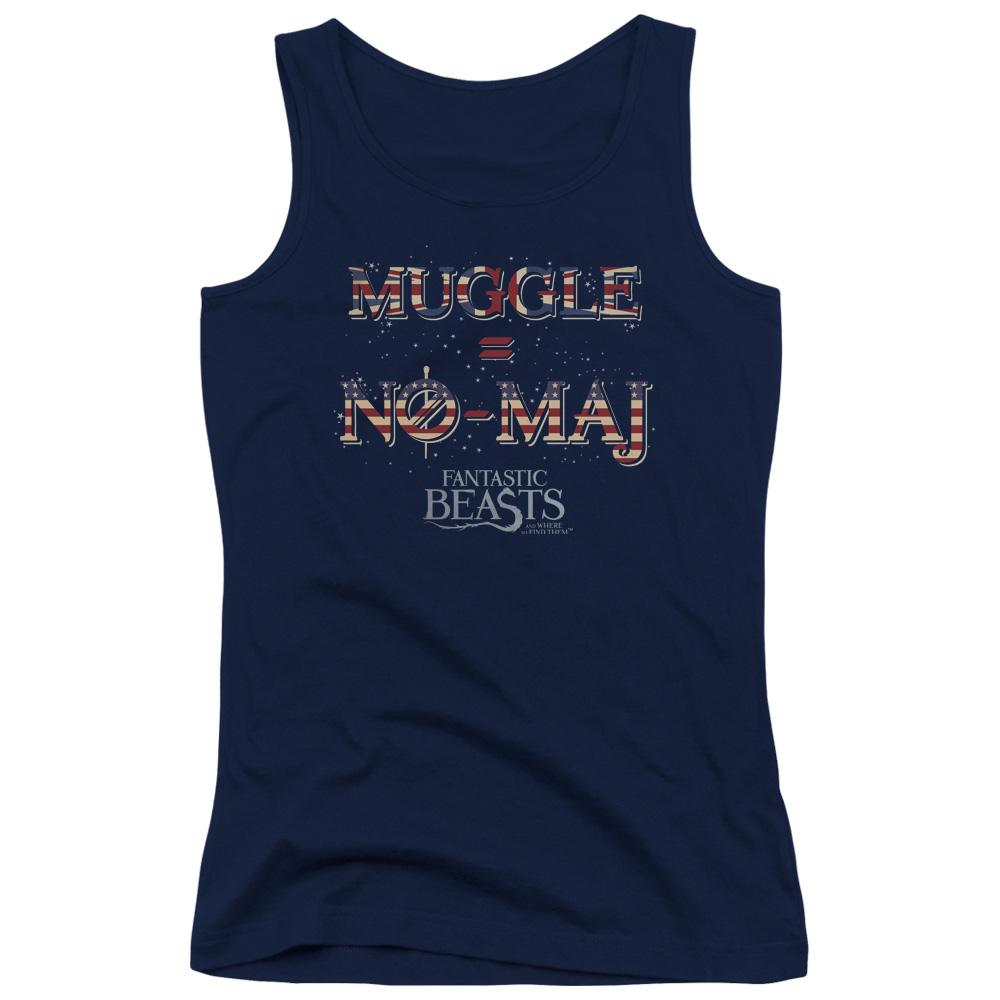 UK US NO MAJ Fantastic Beasts and Where to Find Them Juniors Tank Top