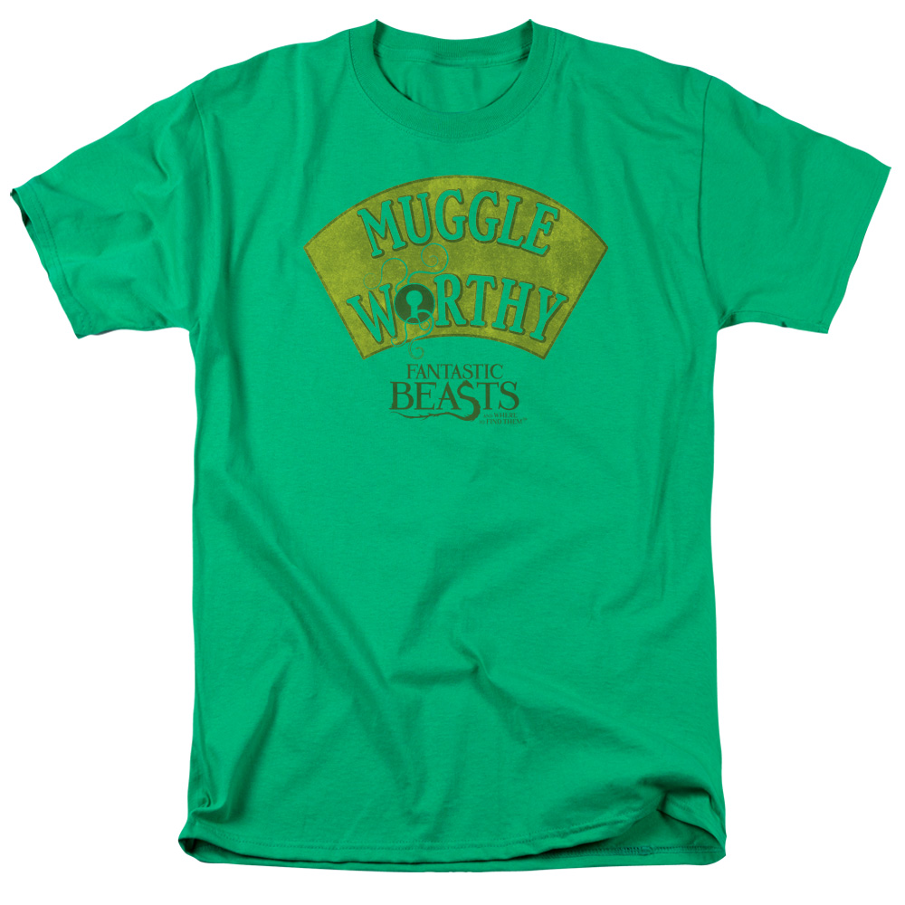 Muggle Worthy Fantastic Beasts and Where to Find Them T-Shirt