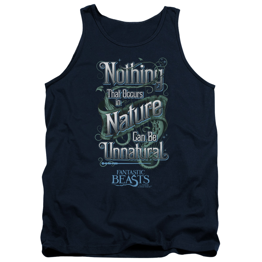 Nature Can Be Unnatural Fantastic Beasts and Where to Find Them Tank Top