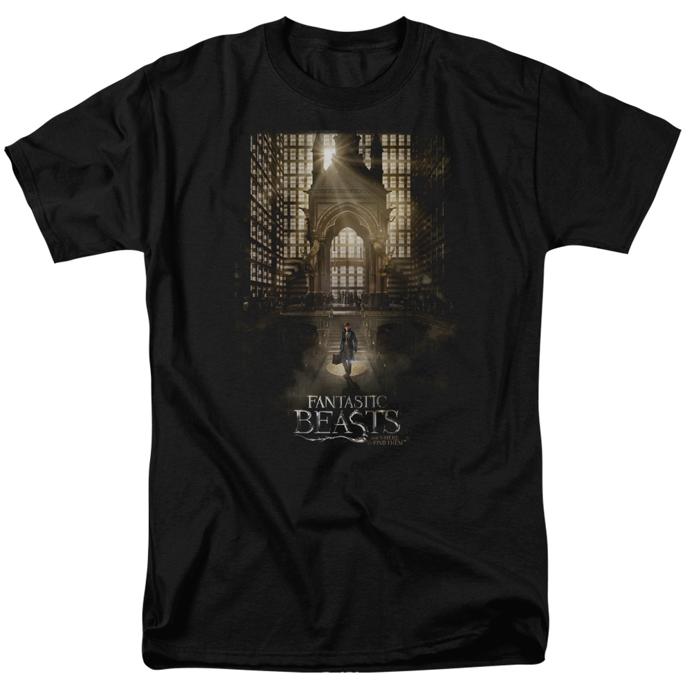 Fantastic Beasts and Where to Find Them Poster T-Shirt