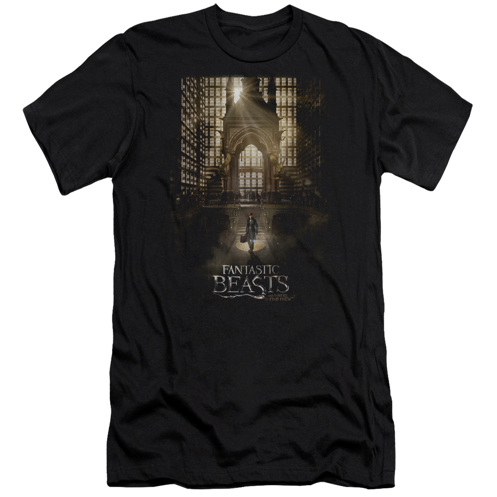 Fantastic Beasts and Where to Find Them Poster Slim Fit T-Shirt