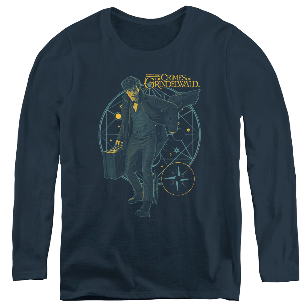 Fantastic Beasts: The Crimes of Grindelwald Suitcase Women's Long Sleeve Shirt