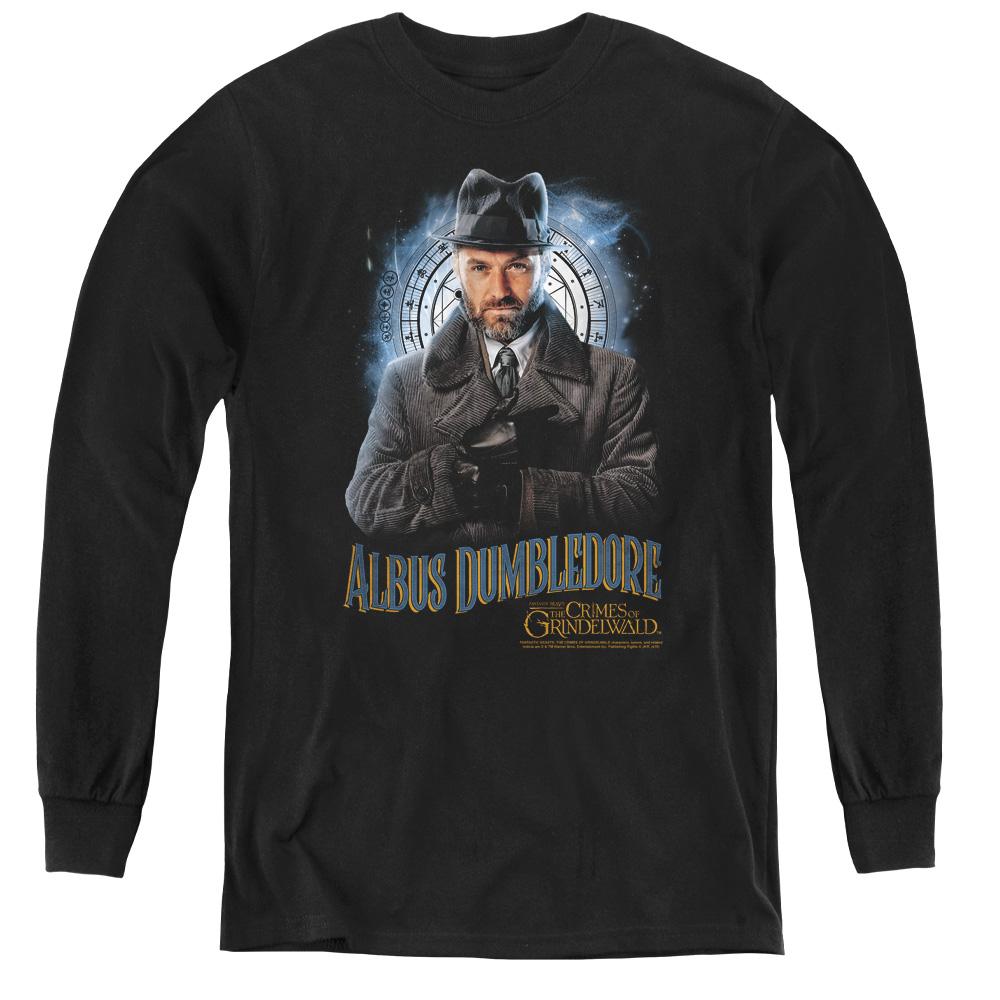 Dumbledore Fantastic Beasts 2 Kids Long Sleeve Shirt