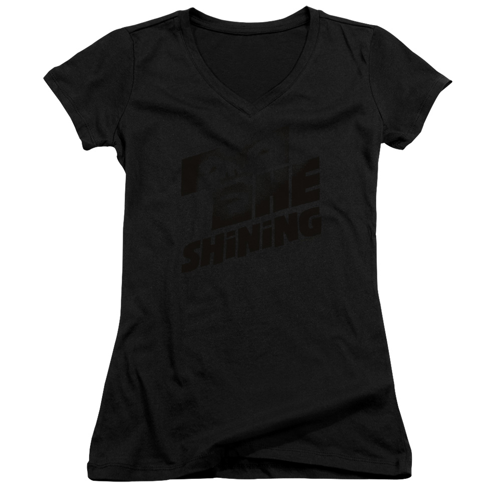 The Shining Poster Juniors V-Neck T-Shirt