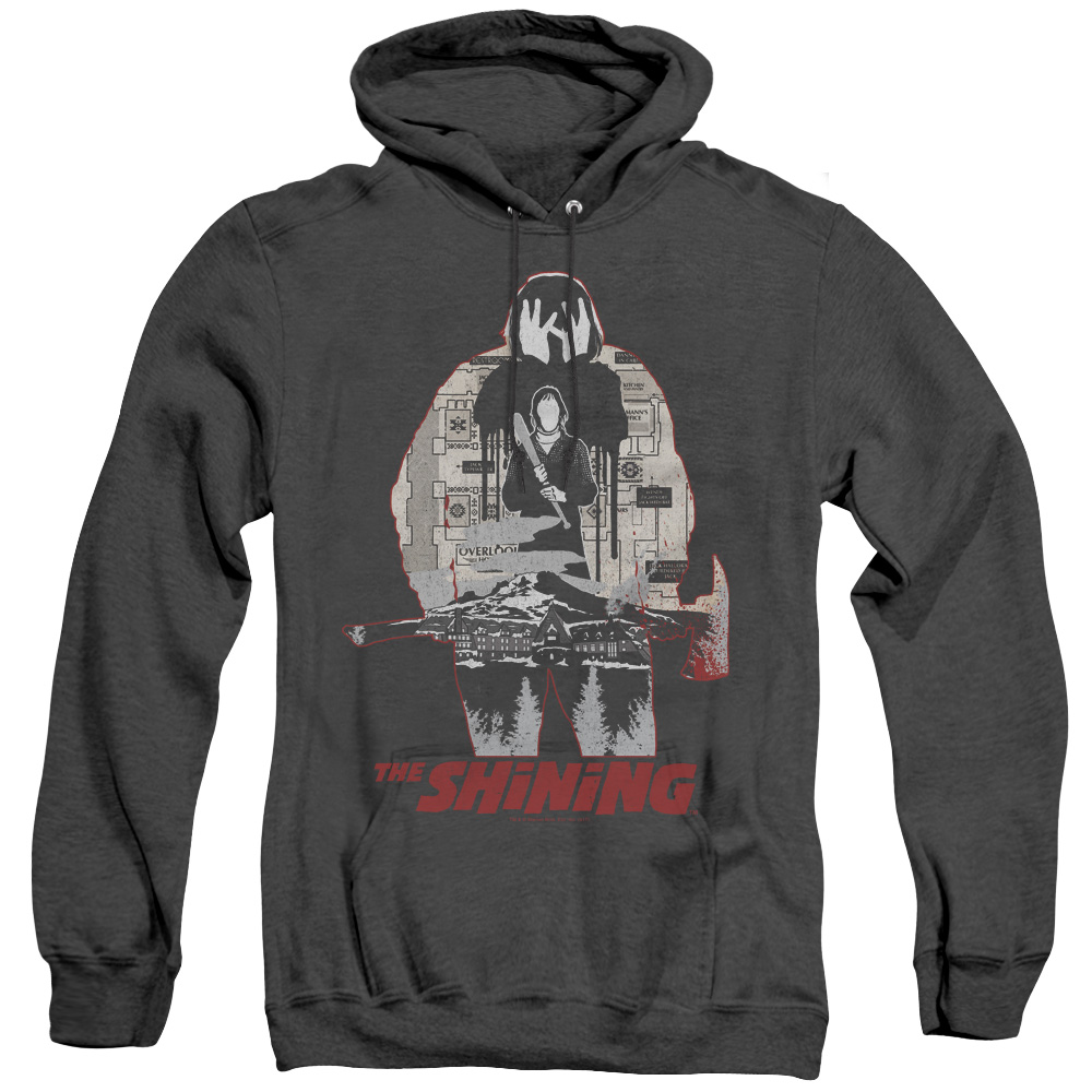 The Shining Come Out, Come Out Adult Heather Hoodie