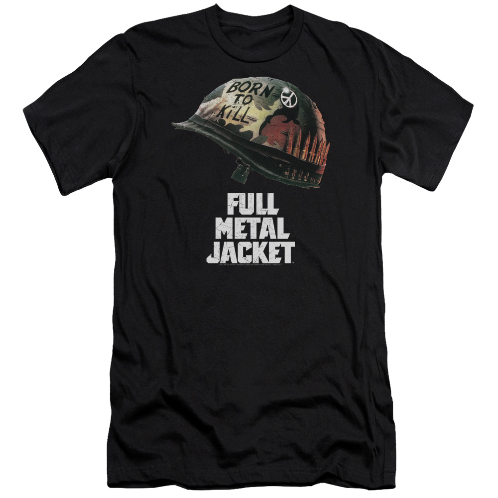 Full Metal Jacket Poster Slim Fit T-Shirt