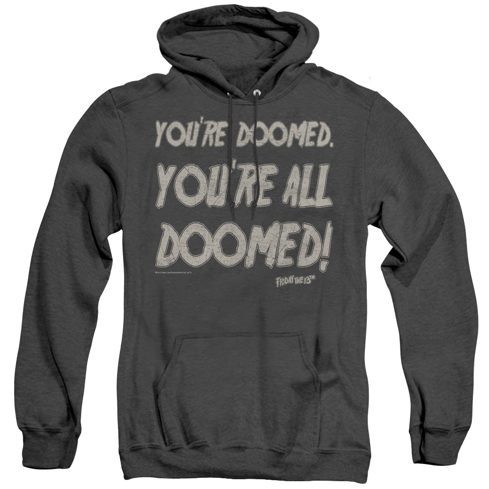 Friday the 13th Doomed Adult Heather Hoodie