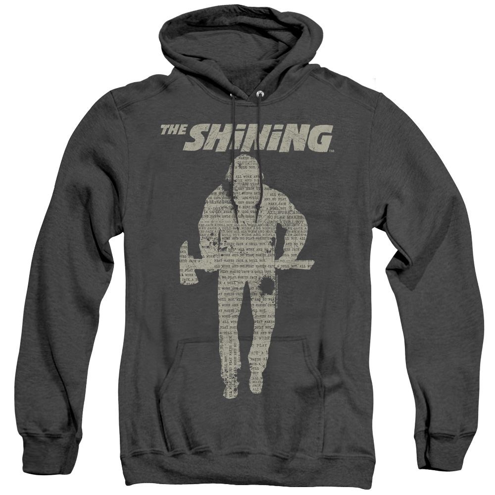 The Shining - Dull Boy Adult Heather Hoodie