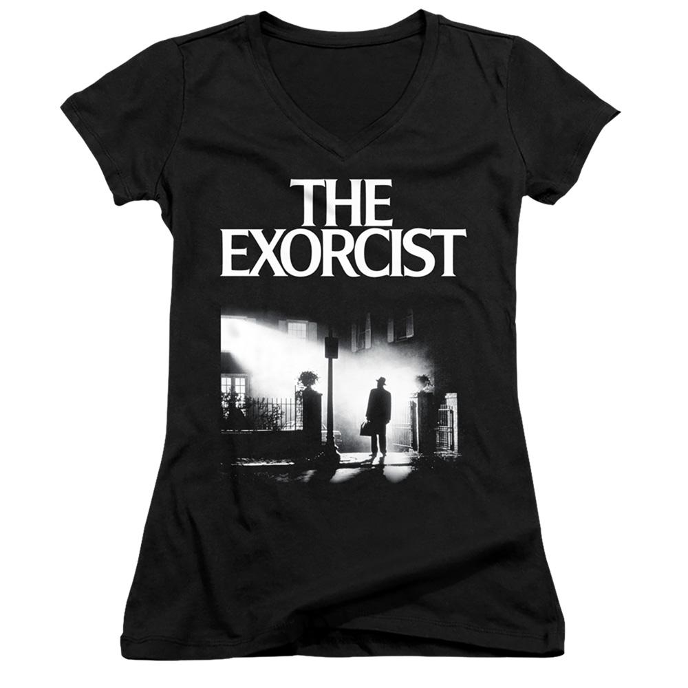 The Exorcist Juniors V-Neck T-Shirt