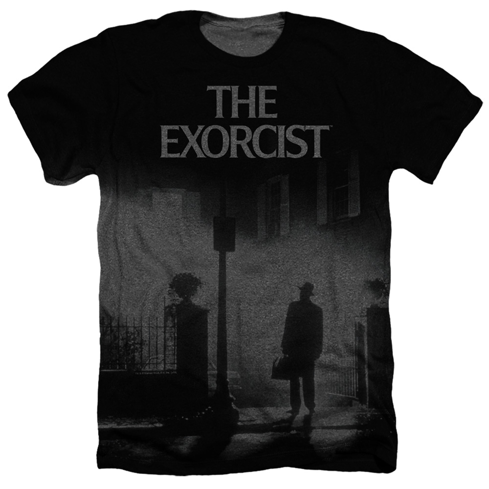 The Exorcist Poster Heather T-Shirt