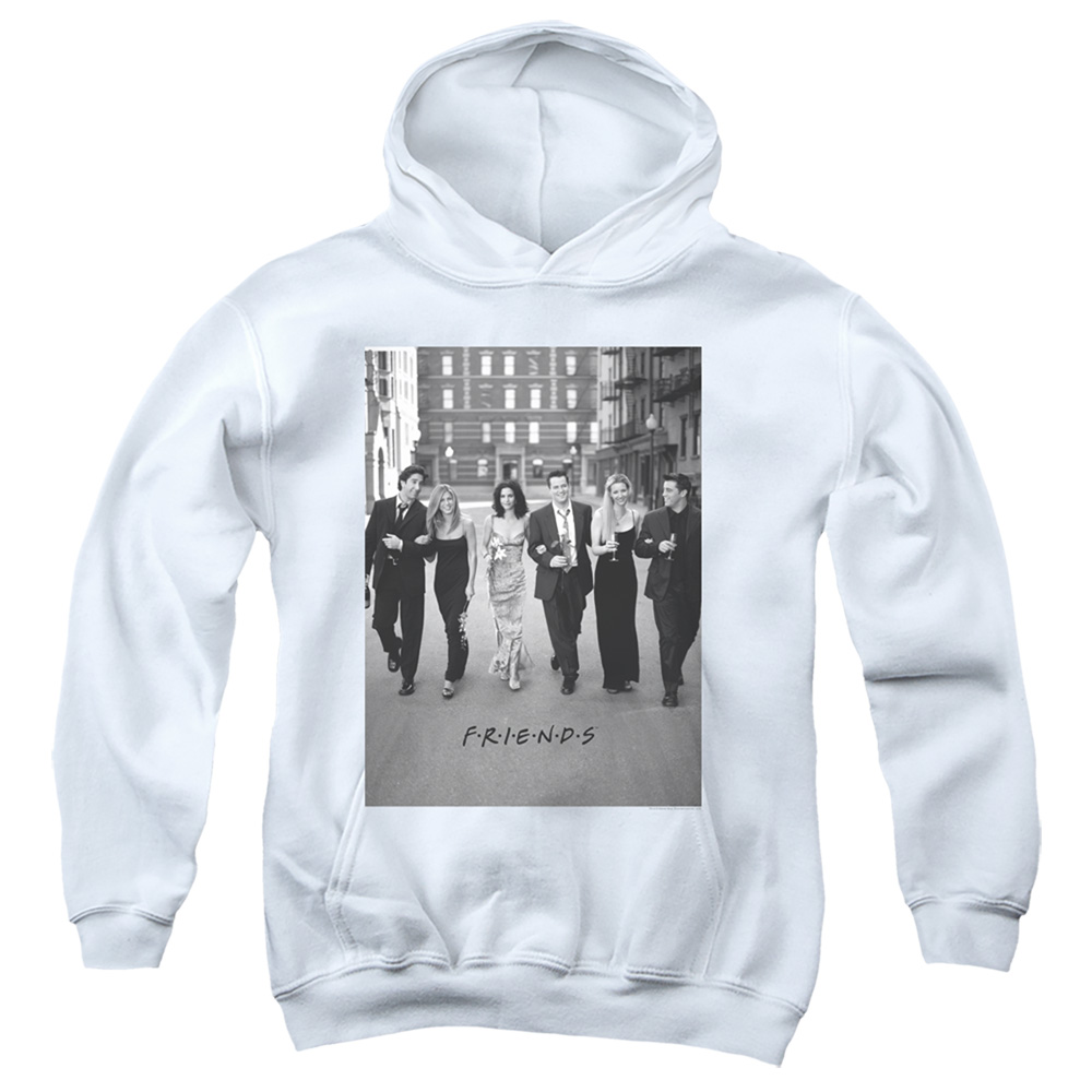 Friends Walk The Streets Kids Hoodie