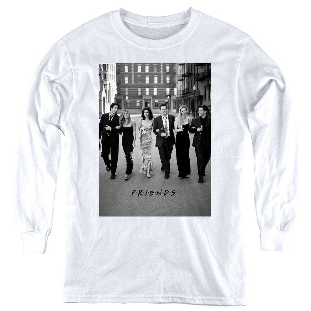Friends Walk The Streets Kids Long Sleeve Shirt