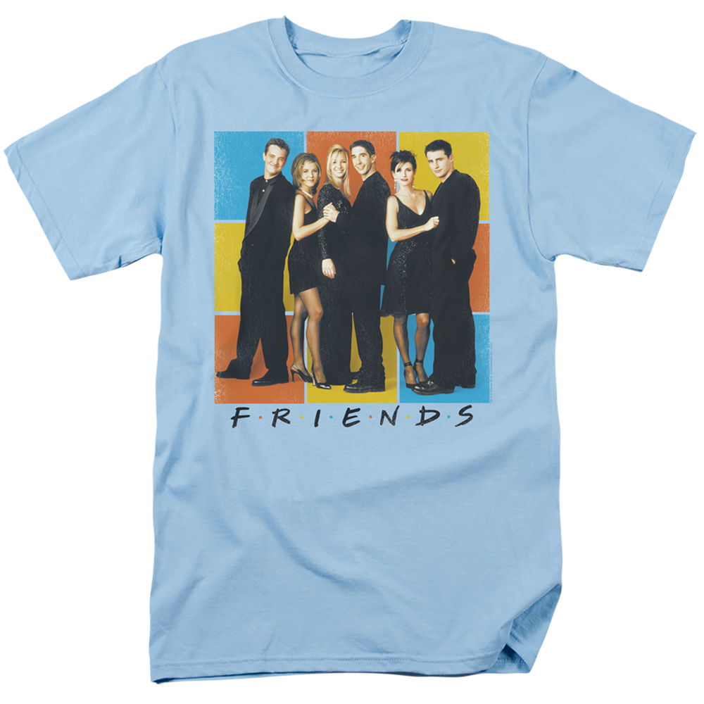 Friends Color Block Cast T-Shirt