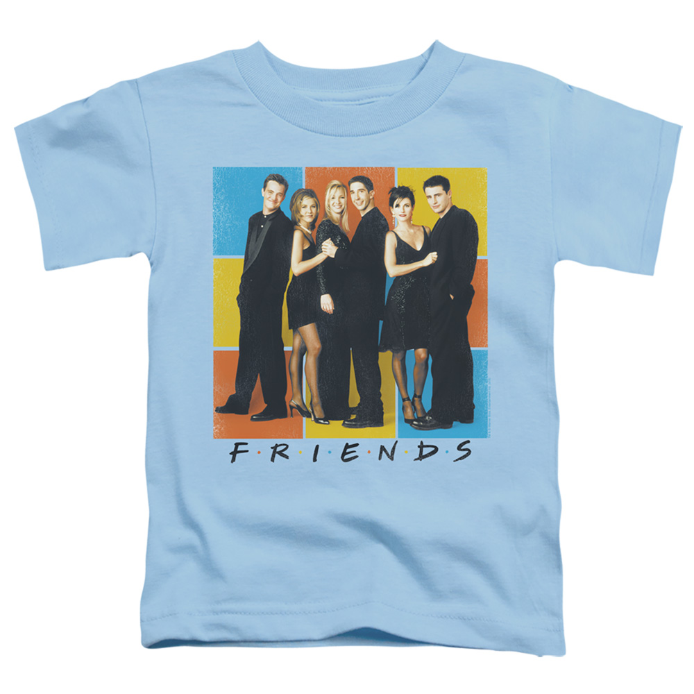 Friends Color Block Cast Toddler T-Shirt