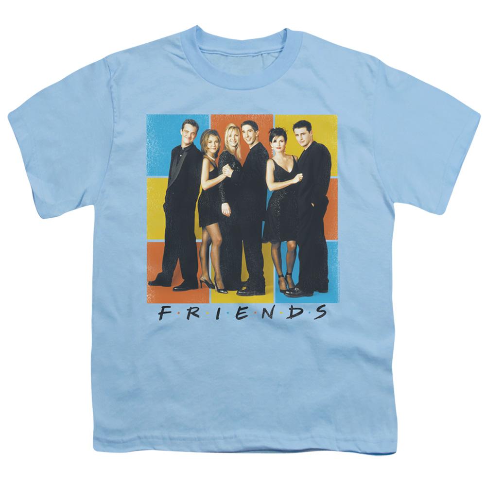 Friends Color Block Cast Kids T-Shirt