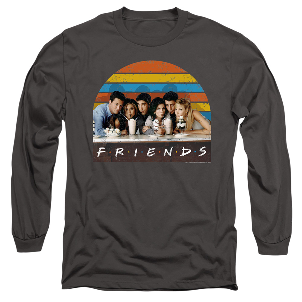 Friends Soda Fountain Long Sleeve Shirt