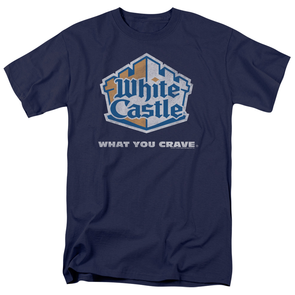 White Castle Distressed Logo T-Shirt