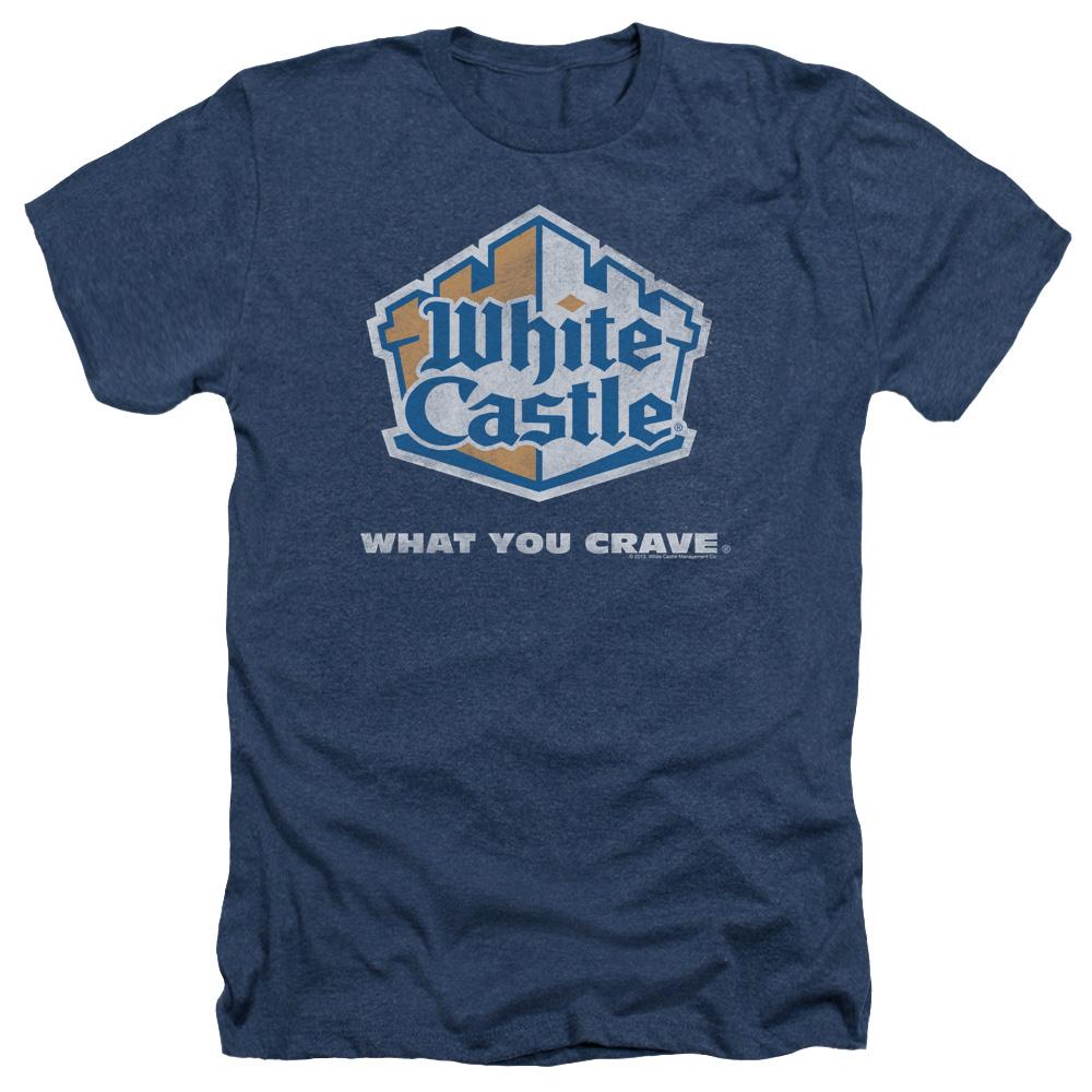 White Castle Distressed Logo Heather T-Shirt