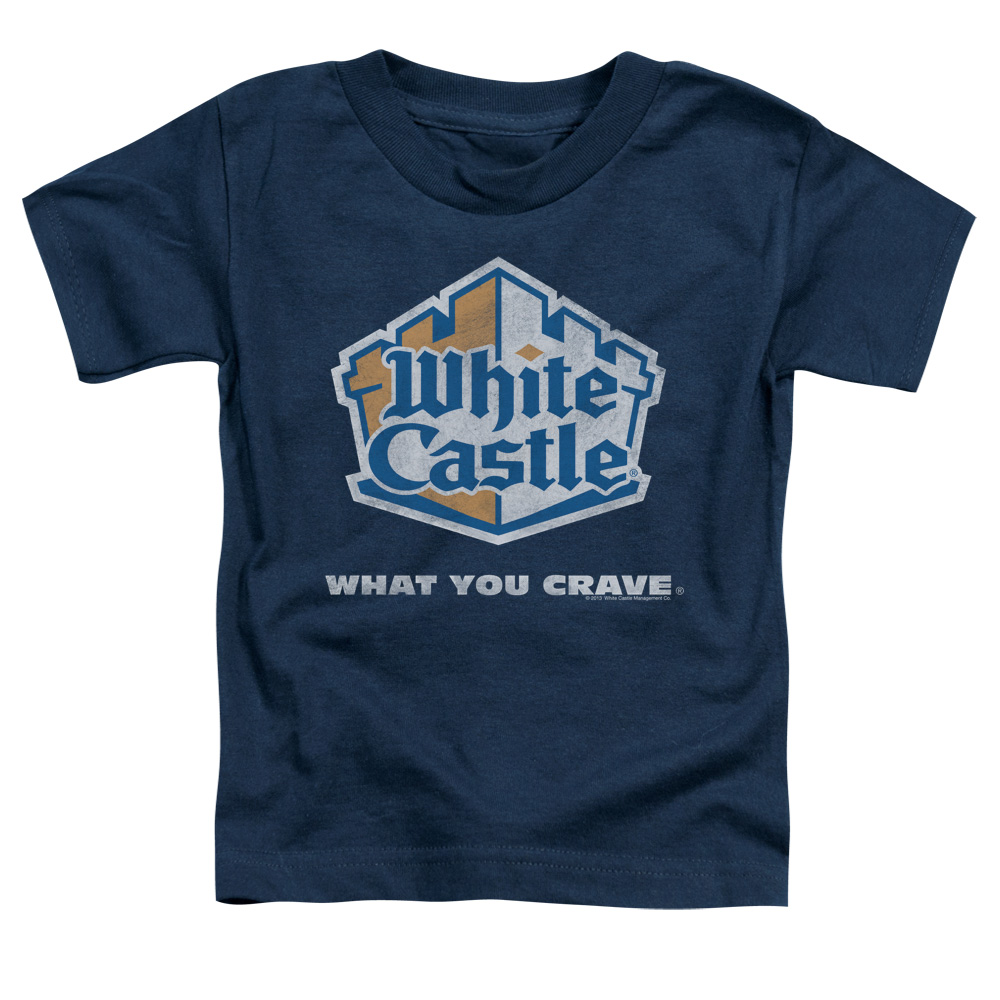 White Castle Distressed Logo Toddler T-Shirt