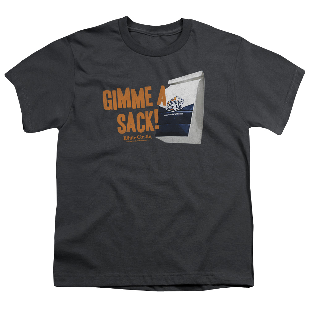 White Castle Gimmie A Sack Kids T-Shirt