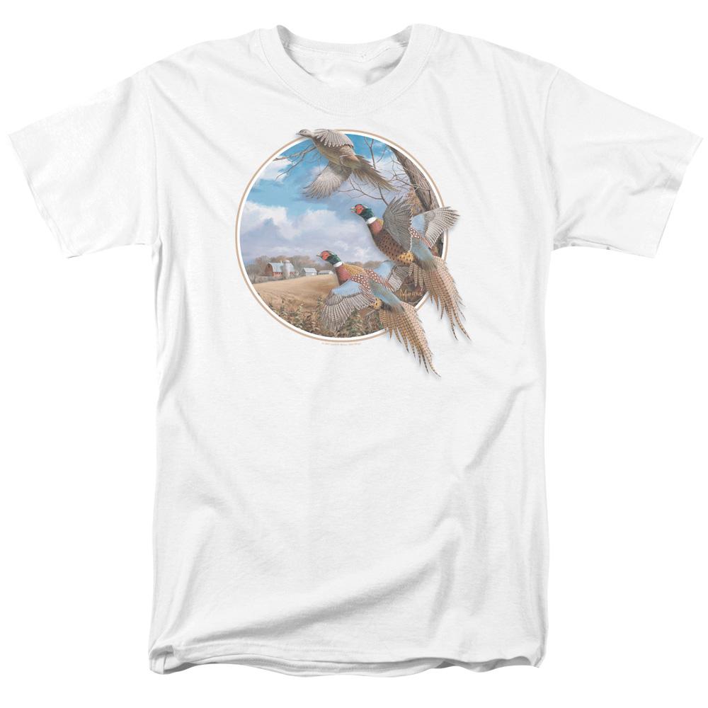 Wild Wings October Memories Pheasants T-Shirt
